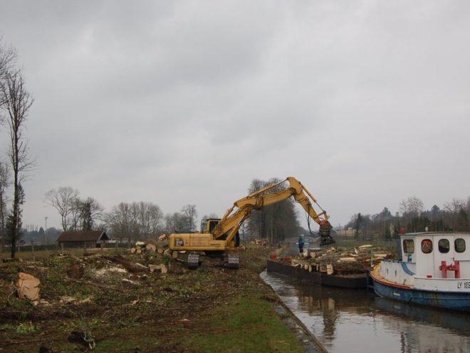 Quelques exemples de travaux publics atypiques de TP Faucogney - 70 Cubry Les Faverney