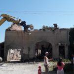 Démolition d'une habitation suite à