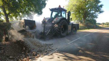 Chantier réseaux secs sur Echenoz-le-Sec