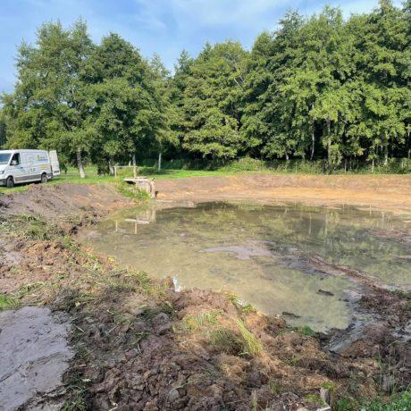 Curage d'un étang 2