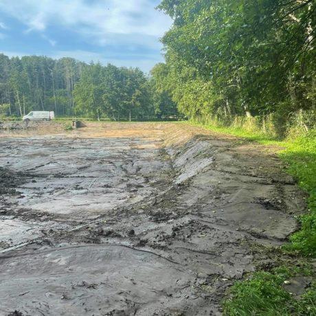 Curage d'un étang 4