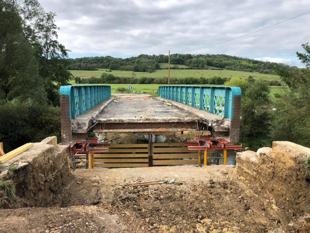 travaux pont